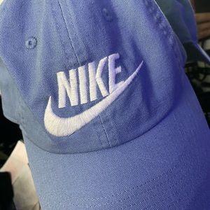 Blue nike hat